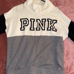 PINK Victoria Secret 1/2 zip